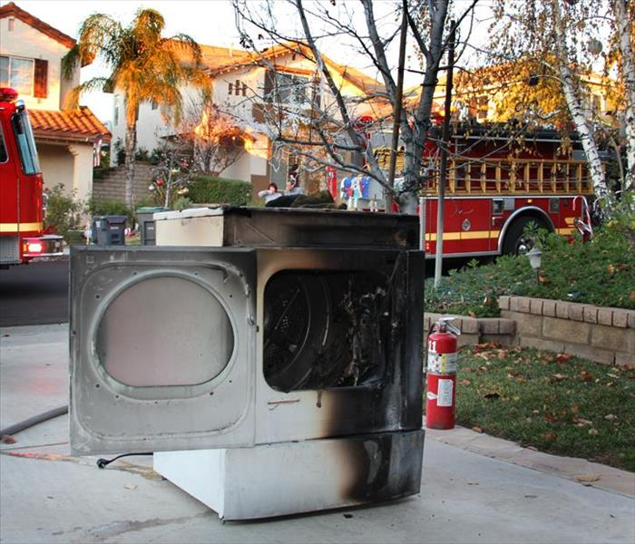 Fire Damage Preventing Fire in Your Clothes Dryer